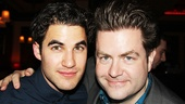 Darren Criss with Broadway.com's Paul Wontorek, who's interviewed the Glee star twice on his talk show, Show People.