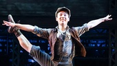 Hogan Fulton in Newsies. Photo by Matthew Murphy