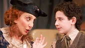 Andrea Martin as Aunt Kate & Matthew Schechter as Moss Hart in Act One