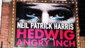 Hedwig – Opening Night – OP – 4/23 – marquee