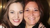 Broadway favorite Laura Osnes with her longtime dresser, Tamara Kopko.