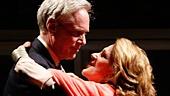 Richard Bekins as Winston & Linda Lavin as Audrey Langham in Too Much Sun