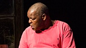 Stephen McKinley Henderson as Pops & Ray Anthony Thomas as Junior in Between Riverside and Crazy