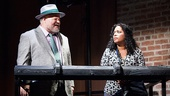 Stephen McKinley Henderson as Pops &  Liza Colon-Zayas as Church Lady in Between Riverside and Crazy