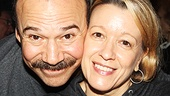 Cabaret duo Danny Burstein and Linda Emond.