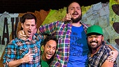Found - Show Photos - 9/14 - Nick Blaemire - Andrew Call - Danny Pudi - Daniel Everidge - Orville Mendoza