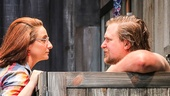 Tracee Chimo as Chloe & Michael Chernus as Sam in Lips Together, Teeth Apart