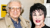 The Visit - Backstage - 4/15 - Chita Rivera - Sheldon Harnick