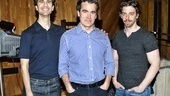 Something Rotten! - Recording - 4/15 - John Cariani - Christian Borle - Brian D'Arcy James