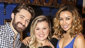 Finding Neverland - Backstage - Kelly Clarkson - 7/15 - matthew morrison - Renee Puente