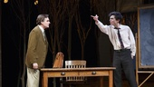Robert Sean Leonard as Alan Hoffman and Timothee Chalamet as Jim Quinn in Prodigal Son.