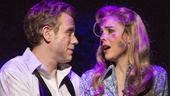 Adam Pascal as Chad and Kerry Butler as Marianne in Disaster!.