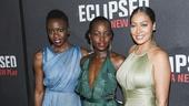 Eclipsed - Opening - 3/16 - GETTY - Danai Gurira - Lupita Nyong'o - La La Anthony