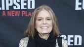 Eclipsed - Opening - 3/16 - GETTY - Gloria Steinem