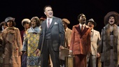 Brian Stokes Mitchell and the cast of Shuffle Along.