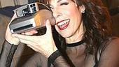 Liza Greets Rita Wilson at Chicago - Rita Wilson (with camera)