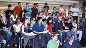 Les Miz Press Rehearsal - Full Cast Singing