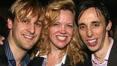 Photo Op - Mamma Mia! Fifth Anniversary - Josh Marquette - Leah Hocking - Kevin Cahoon