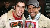 Photo Op - Wicked Day 2006 - Ben Gettinger - Gerard Salvador  ( with x-mas cards)