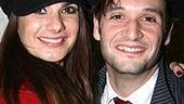 Photo Op - Les Miz opening - Drew Sarich - wife