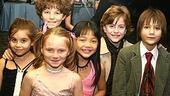 Photo Op - Les Miz opening - Carly Rose Sonenclar - Tess Adams - Austyn Myers - Kylie Liya Goldstein - Jacob Levine - Brian Addoro