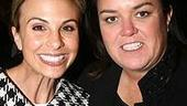 Photo Op - Les Miz opening - Elisabeth Hasselbeck - Rosie O'Donnell