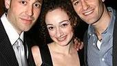 Photo Op - Les Miz opening - Michael Minarik - Megan McGinnis - Matthew Morrison