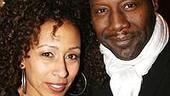 Photo Op - Spring Awakening Broadway opening - Tamara Tunie - (husband) Gregory Generet