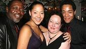 Photo Op - Spring Awakening Broadway opening - Lilli Cooper - family