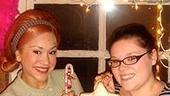 Photo Op - Holidays at Hairspray - Diana DeGarmo - Michele Dowdy