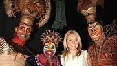 Photo Op - Kelly Ripa at Lion King - Nathaniel Stampley - Tshidi Manye - Kelly Ripa - Patrick Page