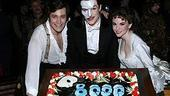 Photo Op - Phantom 8,000th Performance - Michael Shawn Lewis - Howard McGillin - Jennifer Hope Wills