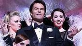 Photo Op - Harry Hamlin and Lisa Rinna do press for Chicago - Harry Hamlin surrounded by girls