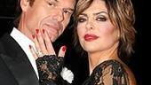 Photo Op - Harry Hamlin and Lisa Rinna do press for Chicago - Harry Hamlin - Lisa Rinna