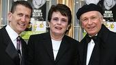 Photo Op - Deuce Opening - Tom  Kirdahy - Billie Jean King - Terrence McNally