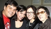 Bloody Bloody Andrew Jackson opening night – Robert Lopez – Kristina Anderson-Lopez – Anna Louizas – Robyn Goodman