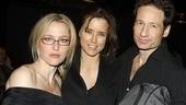 Break of Noon Opening Night – Gillian Anderson – Tea Leoni – David Duchovny