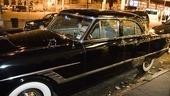 Morgan Freeman at Driving Miss Daisy – car