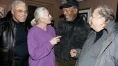 Morgan Freeman at Driving Miss Daisy – James Earl Jones – Vanessa Redgrave – Morgan Freeman – Alfred Uhry