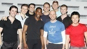 Anything Goes Press rehearsal – male ensemble