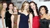 Anything Goes Opening Night – Kristen Beth Williams – Linda Mugleston – Joyce Chittick – Kimberly Faure – Jennifer Savelli – Shina Ann Morris