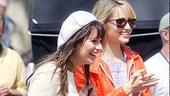 Glee Central Park - Lea Michele - Dianna Agron