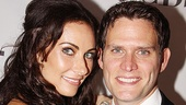 Stage couple Laura Benanti and Steven Pasquale.