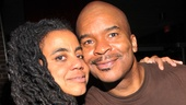 Suzan-Lori Parks, who provided additional material to Porgy and Bess's original book, pals around with the David Alan Grier, who plays Sporting Life.
