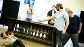 <i>Bonnie & Clyde</i> Rehearsal -  Jeremy Jordan  - Laura Osnes – Louis Hobson