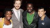 Godspell reunion – Uzo Aduba – Daniel Goldstein – Joshua Henry – Telly Leung