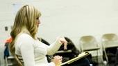 Lysistrata rehearsal – Jessica Hartman