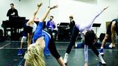Lysistrata rehearsal –stretches