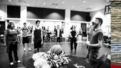 Lysistrata rehearsal – Brad Simmons