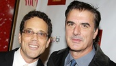 <i>Bonnie & Clyde</i> opening night – Ivan Menchell – Chris Noth